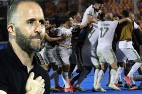 بلماضي نجح في قيادة منتخب الجزائر لبلوغ المباراة النهائية