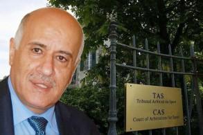 خسر جبريل الرجوب رئيس الاتحاد الفلسطيني لكرة القدم الاستئناف الذي تقدم به أمام المحكمة الرياضية الدولية