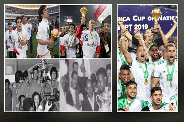 ارتفع رصيد المنتخبات العربية إلى 12 لقباً منذ تأسيس البطولة عام 1957
