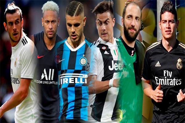 وجد عدد من نجوم كرة القدم انفسهم في مفترق طرق الانتقالات الصيفية