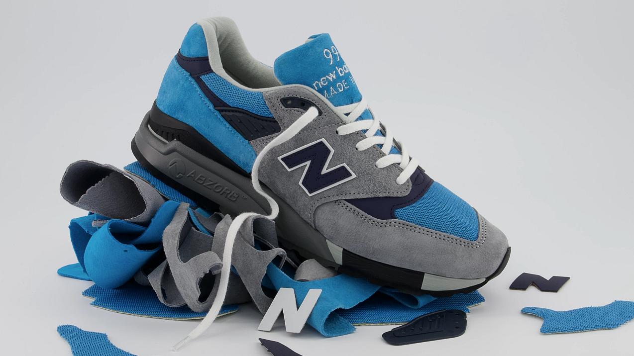 New Balance تكشف النقاب عن أحذية MADE Responsibly 998 الرياضية