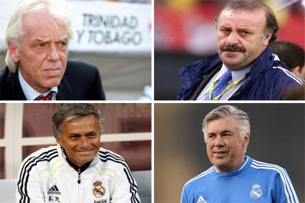 ثلاثة مواسم أطول إقامة للمدربين في ريال مدريد