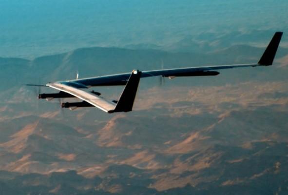 طائرات فيسبوك بدون طيار، صنعت في بريطانيا