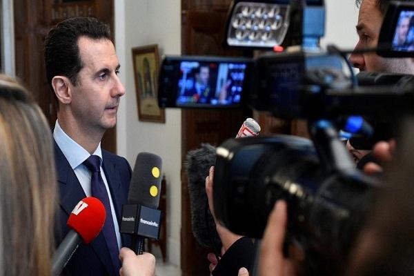 الرئيس الأسد أدلى بهذه التصريحات لوسائل إعلام فرنسية