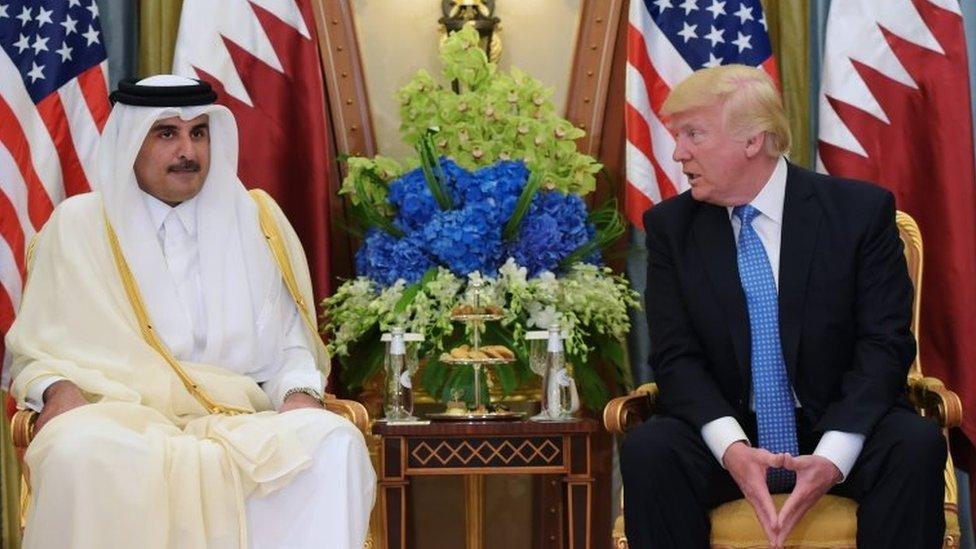 صحف عربية تبرز تصريحات ترامب حول قطر