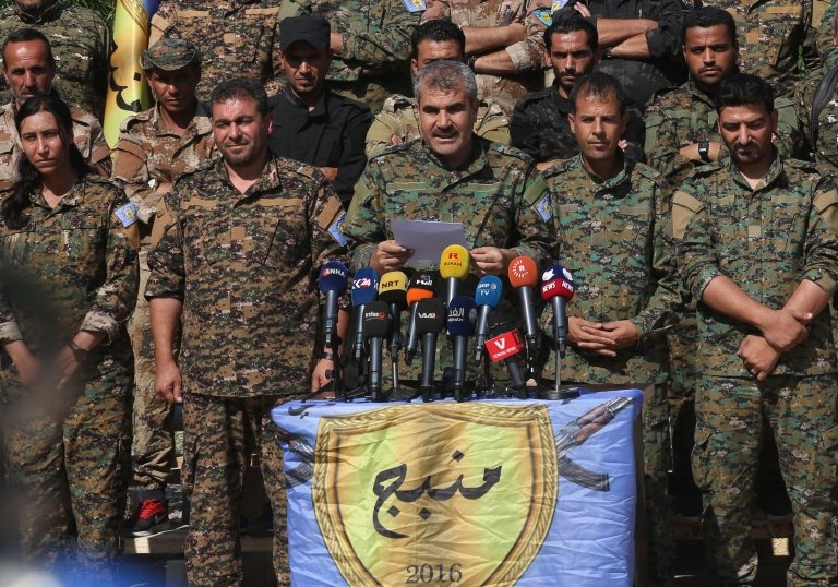 تضارب في الاتفاق الأمريكي التركي حول منبج التي يسيطر عليها الأكراد