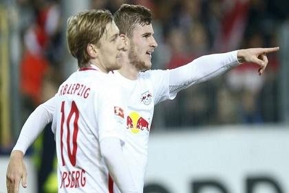لايبزيغ يوسع فارق الصدارة على قمة الدوري الالماني لكرة القدم