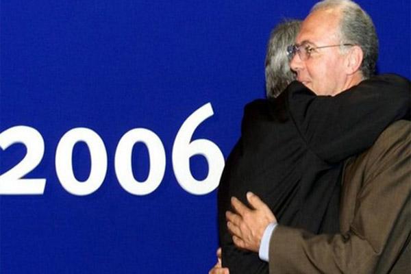 بكنباور كان رئيس لجنة تنظيم نهائيات كأس العالم 2006