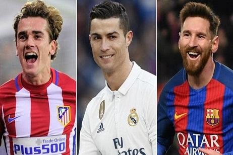 رونالدو الأوفر حظا للفوز بجائزة أفضل لاعب في العالم