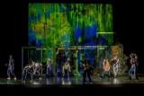 مسرحية أمن عالم المسرح الحديث مابين تكنولوجيا السينما والفيديو والرقص