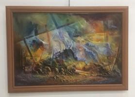 نسيم الالوان.. معرض تشكيلي مميز لفناني كردستان في بغداد!