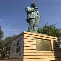 إقامة أول تمثال لممثل عراقي في بغداد!
