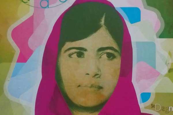 مالالا يوسفزاي ملهمة الكثير من الفتيات المسلمات حول العالم