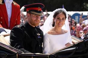 من زفاف ميغان وهاري