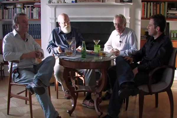 حقائق خطرة ... من اليسار: كريستوفر هيتشنز، دانييل دينيت، ريتشارد دوكينز وسام هاريس