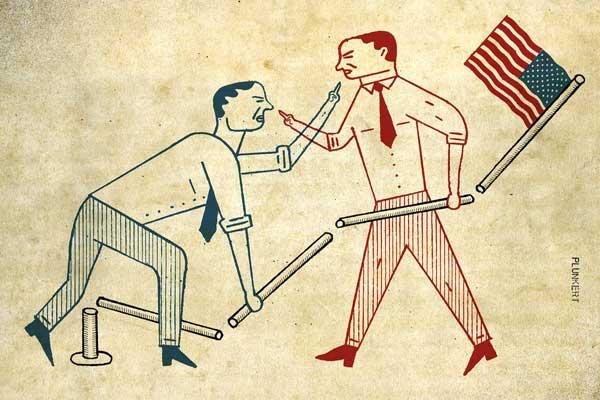 الإرادة هي السلعة الأولى المتداولة في الحياة السياسية الأميركية فوق قيمتها الحقيقية