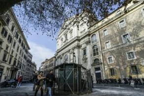 صورة عامة للعاصمة الإيطالية روما