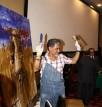 احتفاء مصري إيطالي بالفنان التشكيلي جمال مليكة