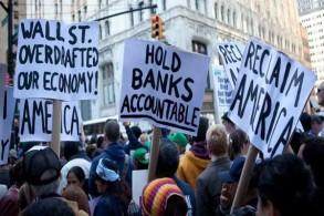 احتجاجات رافقت أزمة 2008 المالية في أميركا