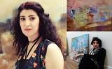 ضيفة إيلاف: شارا رشيد... فنانة قلم و ريشة