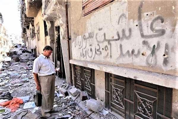شهوة الأسد للسلطة دمرت سوريا
