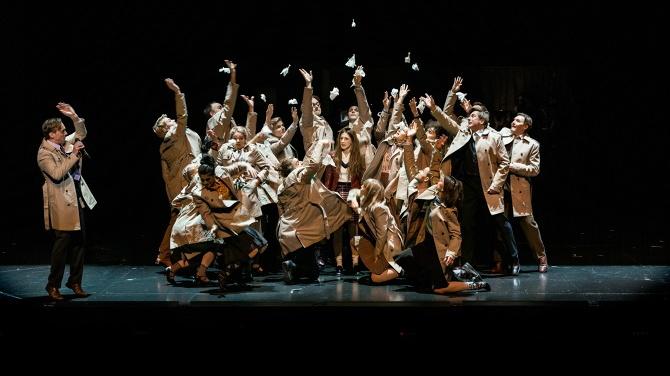 مسرحية سيدتي الجميلة في مسرح مدينة ستوكهولم