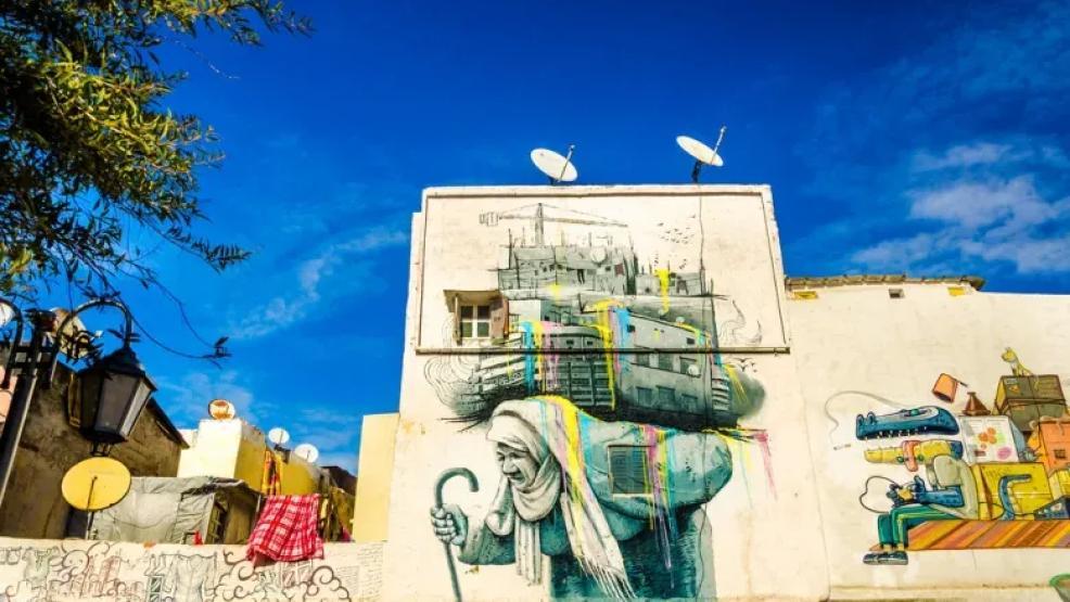 جداريات فنية تغير وجه المدن المغربية