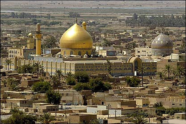 سامراء المدينة العراقية في شمال غرب بغداد