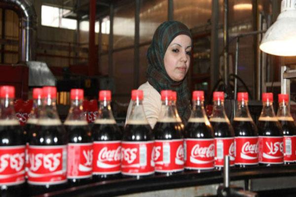 كوكا كولا تفتتح أول مصنع في غزة