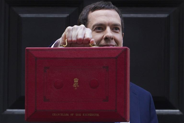 وزير المالية البريطاني جورج اوزبورن