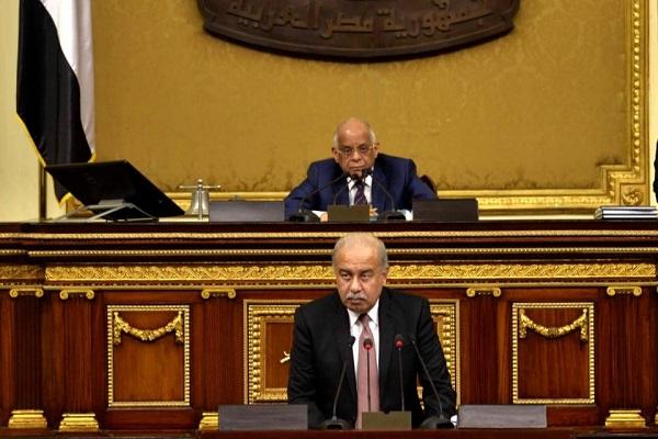 رئيس البرلمان ورئيس الحكومة المصريين