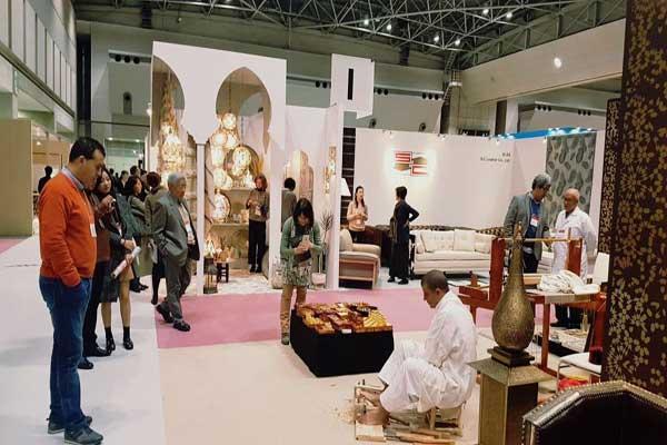حضور مميز للصناعة التقليدية المغربية في معرض بطوكيو