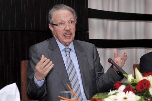 أحمد الحليمي العلمي المندوب السامي المغربي للتخطيط