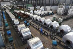 مصنع ألمنيوم في محافظة شاندونغ في شرق الصين بتاريخ 13 سبتمبر 2018
