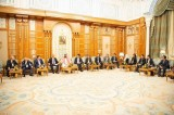 ولي العهد السعودي يلتقي رؤساء صناديق سيادية وشركات عالمية