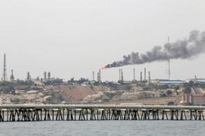 منشأة نفط إيرانية على جزيرة خرج