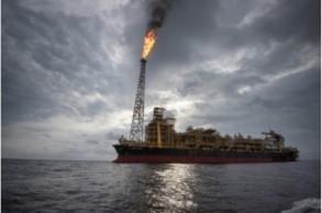 سفينة لانتاج وتخزين النفط تابعة لمجموعة توتال الفرنسية قبالة سواحل أنغولا