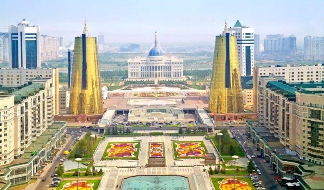 مشهد عام للعاصمة الكازاخية أستانة