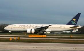 بوينغ طراز 777 تابعة للخطوط الجوية السعودية