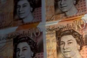 أوراق نقدية من فئة عشرة جنيهات استرلينية