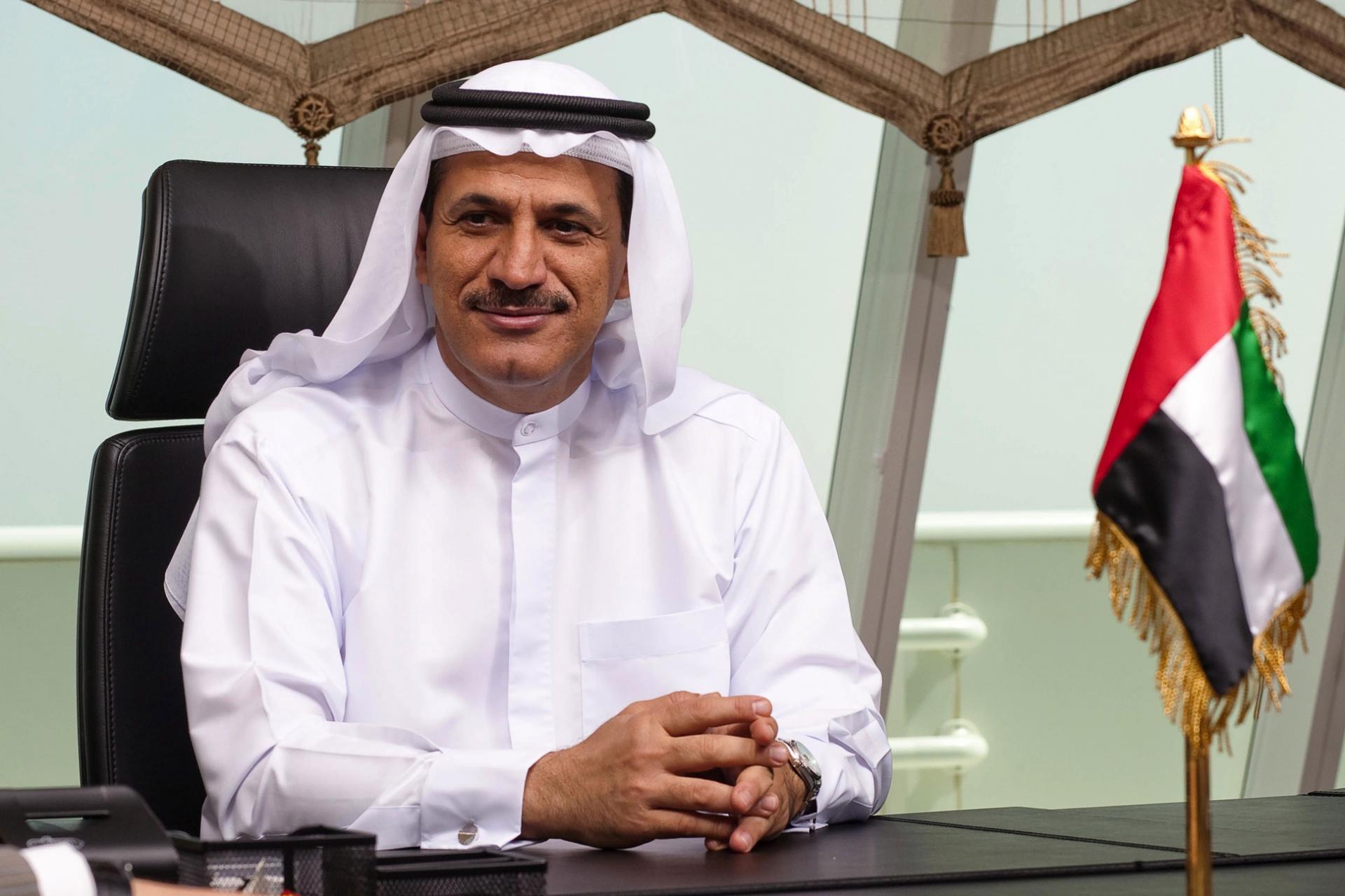 سلطان المنصوري وزير الاقتصاد الإماراتي