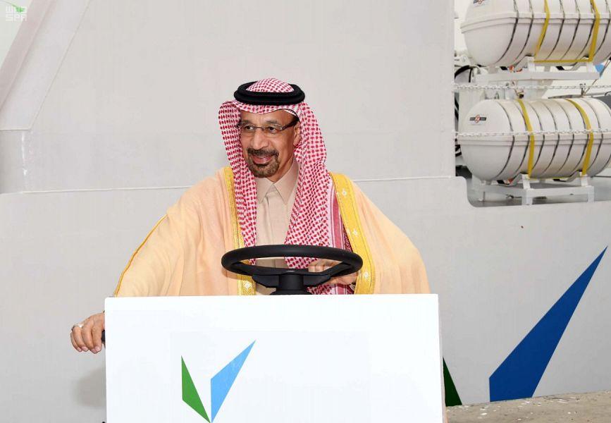 وزير الطاقة والصناعة والثروة المعدنية السعودي خالد الفالح