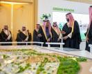 العاهل السعودي يطلق 4 مشاريع كبرى في الرياض