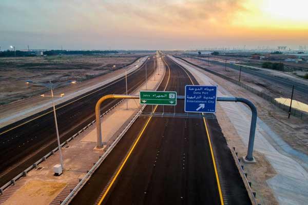 المسافة ما بين مدينة الكويت العاصمة ومنطقة الصبية لن تستغرق أكثر من 20 دقيقة