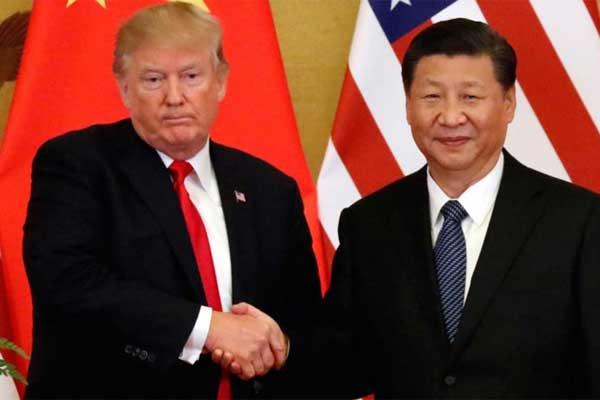 ترمب ونظيره الصيني خلال لقاء سابق جمعهما