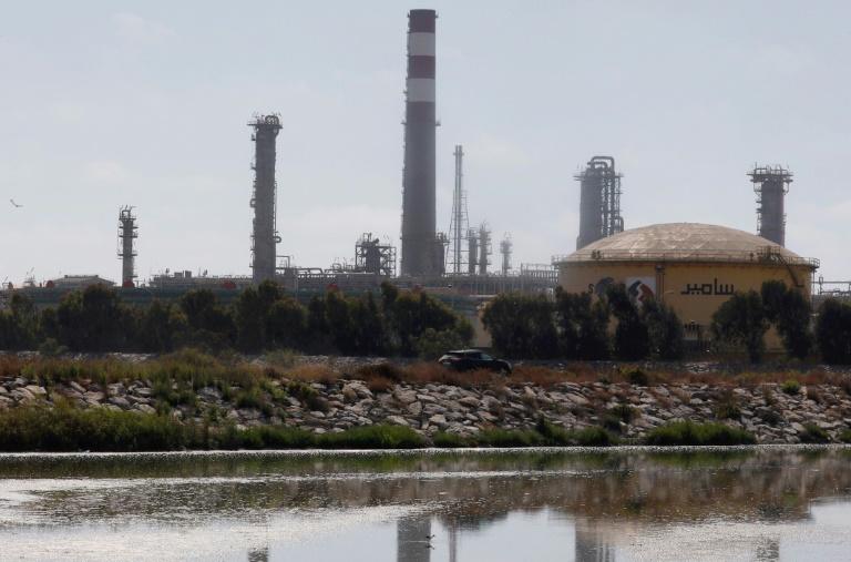 مصفاة النفط الوحيدة في المغرب قرب الدار البيضاء في 22 يونيو 2019