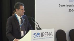 فرانشيسكو لا كاميرا مدير عام الوكالة الدولية للطاقة المتجددة