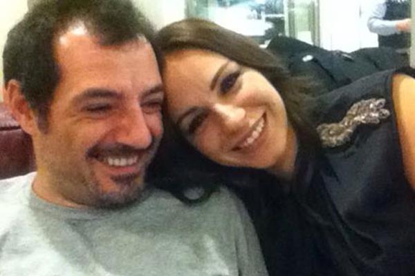 عادل وزوجته ريتا حنا