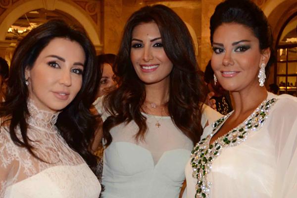 نظلي الروّاس ورويدا عطيّة ورابعة الزيّات في إفطار إيغلز فيلم في بيروت