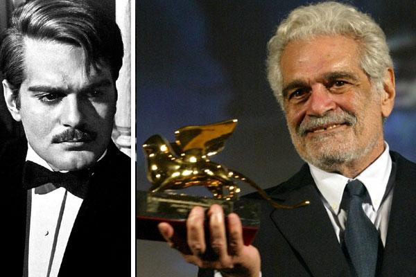 عمر الشريف يحصل على جائزة Golden lion lifetime award ولقطة من شبابه